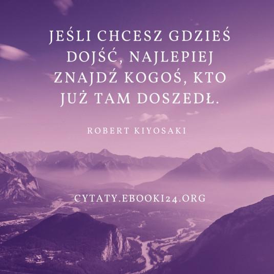 Robert Kiyosaki cytat o naśladowaniu innych