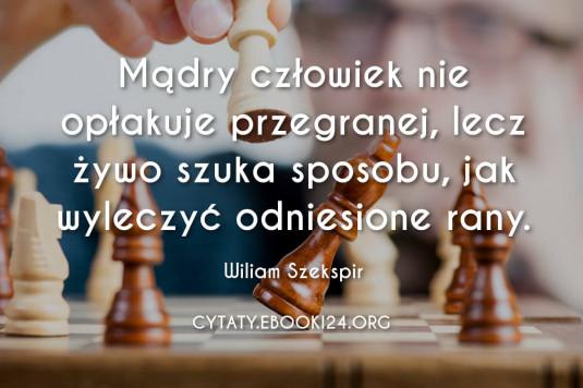 Wiliam Szekspir cytat o mądrym człowieku