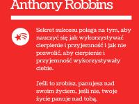 Anthony Robbins cytat o życiu i sukcesie
