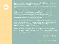 Ben Sweetland cytat o twórczym umyśle