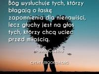 Paulo Coelho cytat o łasce zapomnienia i miłości