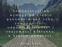 Brian Tracy cytat o samodyscyplinie