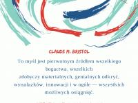 Claude M. Bristol cytat o źródle wszelkiego bogactwa