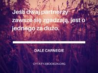 Dale Carnegie cytat o zgodzie