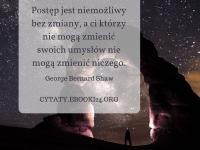 George Bernard Shaw cytat o zmianach