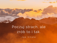 Joe Vitale cytat o strachu