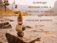Joe Vitale cytat o życiowym doświadczeniu