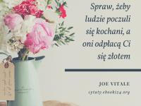 Joe Vitale cytat o miłości