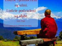 Sun Tsu cytat o o ludziach silnych i słabych