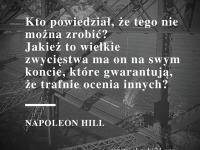 Napoleon Hill cytat o rzeczach niemożliwych