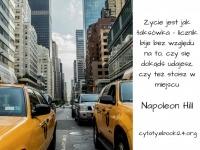 Napoleon Hill cytat o życiu