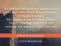Nikodem Marszałek cytat o osiąganiu sukcesu