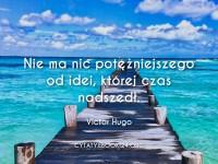 Victor Hugo cytat o idei