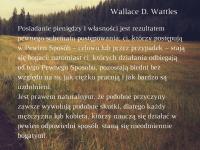 Wallace D. Wattles cytat o przyczynie bogactwa