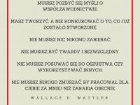 Wallace D. Wattles cytat o współzawodnictwie