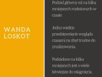 Wanda Loskot cytat o osiąganiu celów