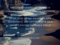 Wanda Loskot cytat o porażkach