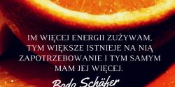 Bodo Schäfer cytat o energii