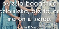 Colin P. Sisson cytat o bogactwie