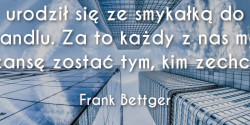 Frank Bettger cytat o smykałce do handlu