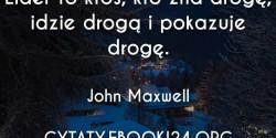 John Maxwell cytat o liderze
