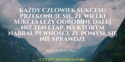Napoleon Hill cytat o sukcesie i pomyśle
