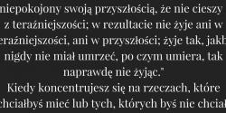 Nick Vujicic cytat o tym co jest ważne w życiu