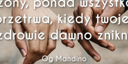 Og Mandino cytat o miłości