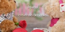 Pascal cytat o miłości