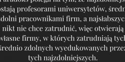 Witold Wójtowicz cytat o zdolnościach, edukacji i pracy