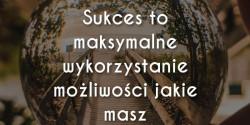 Zig Ziglar cytat o sukcesie